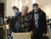 Gilles Charland (à gauche) en compagnie de l'actuel... (Photo: Sylvain Mayer Le Nouvelliste) - image 1.1