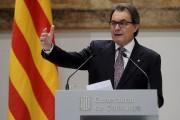 Artur Mas... (Photo JOSEP LAGO, AFP) - image 1.0