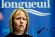 La mairesse Caroline St-Hilaire... (Photo Patrick Sanfaçon, La Presse) - image 1.0