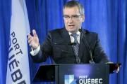 Mario Girard, pdg du Port de Québec... (Le Soleil, Jean-Marie Villeneuve) - image 1.0