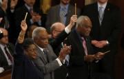 «Ce soir, nous tournons la page»: porté par de bons indicateurs... (Photo: AFP) - image 2.0