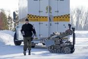 Le robot utilisé par la Sûreté du Québec.... (Photo: Stéphane Lessard, Le Nouvelliste) - image 1.1