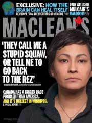 Le maire de Winnipeg, en larmes, a promis... (Photo fournie par Macleans) - image 1.0