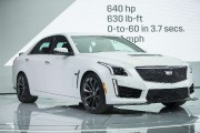 La Cadillac CTS-V... (PHOTO GEOFF ROBINS, AFP) - image 4.0