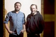 Le cinéaste Maxime Giroux et le comédien Martin... (Photo La Presse, André Pichette) - image 1.0