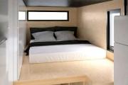 Des deux lits grand format que peut contenir... (Image fournie par Minimaliste) - image 1.0