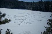 Ce flocon de neige géant a été tracé... (Photo: René Filion) - image 1.0