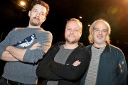 De gauche à droite: le comédien Olivier Normand,... (Le Soleil, Erick Labbé) - image 1.1