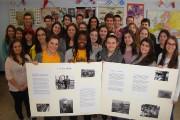 Les élèves de la classe d'histoire de cinquième... (Photo: Jean-Pierre Frigon) - image 1.0