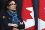 La femme de Raïf Badawi, Ensaf Haidar, est... (La Presse Canadienne, Fred Chartrand) - image 1.0