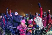 Les plus enthousiastes sont arrivés tôt sur les... (Photo Le Soleil, Jean-Marie Villeneuve) - image 1.0
