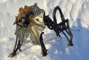 La maquette deMa bête noiredu sculpteur sur neige... (Le Soleil, Yan Doublet) - image 1.0