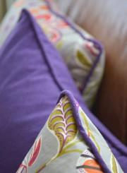 Détail de finition de coussins, recouverts pour le... (Photo Le Soleil, Yan Doublet) - image 1.1