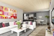 Les planchers et les plafonds des condos sont... (Image fournie par Synchro immobilier) - image 1.0