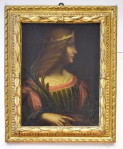 Un tableau attribué au maître italien Leonard De... (PHOTO AP) - image 1.0