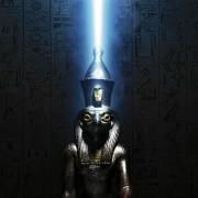 Horus sur une gazelle; statuette votive, bronze, basse... (collection du Rijksmuseum van Oudheden, Pays-Bas) - image 2.0