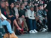 En première rangée: Jay-Z, Beyoncé, Kim Kardashian et... (Photo Bebeto Matthews, AP) - image 1.0