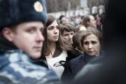 Emprisonnées pendant deux ans, Nadezhda Tolokonnikova (à gauche)... (PHOTO PASCAL DUMONT, COLLABORATION SPÉCIALE) - image 4.0