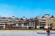 Le projet Entourage sur-le-lac, vu du lac Beauport.... (Photo fournie par Pierre Martin, architecte) - image 1.0