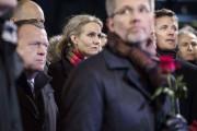 La première ministre Helle Thorning-Schmidt et le prince... (PHOTO CLAUS BJOERN LARSEN, AFP) - image 2.0