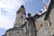 Le château de Ceskey Krumlov, dont sa tour,... (Photo Stéphanie Morin, La Presse) - image 2.0