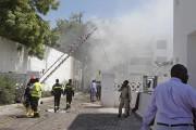 L'attaque estsurvenue lors de la grande prière musulmane... (PHOTO FARAH ABDI WARSAMEH, AP) - image 3.0