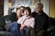 Maëlle Adenot, 12 ans, entourée de ses parents,... (Photo André Pichette, La Presse) - image 1.0