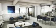Dans les condos sur deux niveaux, la cuisine... (Illustration fournie par le Groupe Leclerc Architecture+Design) - image 1.0
