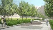 La future rue McTavish... (ILLUSTRATION FOURNIE PAR LA VILLE DE MONTRÉAL) - image 1.0