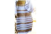 La robe blanche et doré ou bleue et... (Photo tirée de Twitter) - image 1.0
