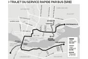 Trajet du service rapide par bus (SRB)... (Infographie Le Soleil) - image 3.0