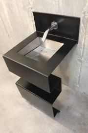 Un lavabo signé Denis Bourgeois, à découvrir dans... (Photo fournie par le Salon national de l'habitation) - image 2.0