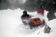 En hiver, les pneus à crampons sont permis... (PHOTO FOURNIE PAR DANIEL CARRIER) - image 1.1