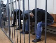 Trois suspects détenus pour le meurtre deBorisNemtsov.... (PHOTO DMITRY SEREBRYAKOV, AFP) - image 1.0