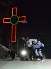 Du haut de la piste de glace sur laquelle se déroulait... (Imacom, Maxime Picard) - image 2.0