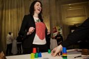 La comédienne Tammy Verge et sa famille jouent... (Photo André Pichette, La Presse) - image 5.0