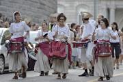 Fanfare lors du défilé de clôture des fêtes... (Photothèque Le Soleil, Pascal Ratthé) - image 14.0