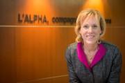 Geneviève Verrier est présidente-directrice générale d'Alpha Assurances.... (PHOTO OLIVIER JEAN, ARCHIVES LA PRESSE) - image 4.0