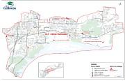 Carte des quartiers touchés par l'avis d'ébullition.... (Courtoisie, Ville de Gatineau) - image 1.0