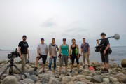 L'équipe de tournage de la docu-fiction Le rêve... (Courtoisie) - image 2.1