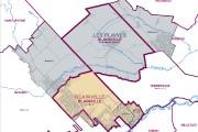 En jaune, la nouvelle circonscription de Blainville et... - image 1.0