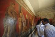L'Italie a dévoilé vendredi la restauration du joyau... (PHOTO MARIO LAPORTA, AFP) - image 1.0
