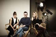 Ci-dessus, le trio de la nouvelle série Casting,... (Photo: Mathieu Rivard) - image 2.0