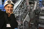 La physicienne québécoise Pauline Gagnon, qui travaille au... (Photo fournie par le CERN) - image 1.1