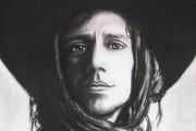 Le portrait de Jean Leloup volé à la... (PHOTO fournie par Jessica Tenreiro Gagné) - image 1.0