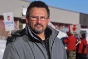 Le conseiller régional de la FTQ, David Maden.... (Photo: François Gervais, Le Nouvelliste) - image 1.0