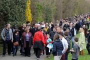 Une marche a été organisée à Villefontaine en... (PHOTO JEAN-PERRE CLATOT, AFP) - image 2.0