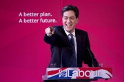 Ed Miliband... (PHOTO OLI SCARFF, afp) - image 2.0