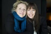L'humoriste Valérie Blais et l'auteure Marie-Andrée Labbé... (La Presse, Édouard Plante-Fréchette) - image 1.1