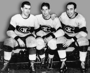 La «Punch Line» composée de Maurice Richard, Elmer... (PHOTO ARCHIVES LA PRESSE) - image 1.0